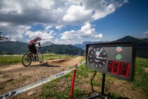 Start Clock - SDC Morgins 2015