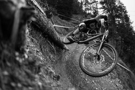 The mud and rain weren't kind to Julius Gstrein who would leave MSA in 34th
